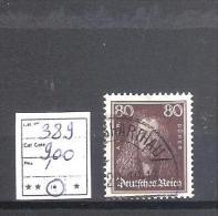 Allemagne Reich  : N° 389 Oblitéré Dépareillé D'une Série Cote Yvert : 9,00 € - Germania