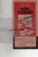 59 - DUNKERQUE-LILLE-VALENCIENNES-MAUBEUGE- ARRAS-DOUAI- CANBRAI-VERVINS-MONS-ABBAVILLE-AMIENS-HAM-CHANTILLY-SENLIS-1947 - Dépliants Touristiques