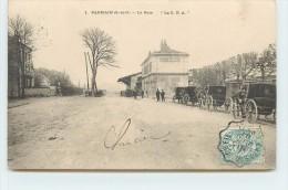 PARMAIN - La Gare. - Bahnhöfe Ohne Züge