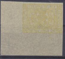 """Belgique Essai : TR 5 *** Jaune """"sans S"""" ND - 1879 - 1882 - Proofs & Reprints"""