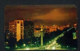 MEXICO  -  Mexico City  Hotel Maria Isabel Unused Vintage Postcard As Scan - Mexico