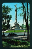 MEXICO  -  Mexico City  Independence Monument  Unused Vintage Postcard As Scan - Mexico