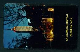 MEXICO  -  Mexico City  Alameda Park  Unused Vintage Postcard As Scan - Mexico