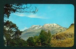 MEXICO  -  Ixtaccihuatl Volcano  Unused Vintage Postcard As Scan - Mexico