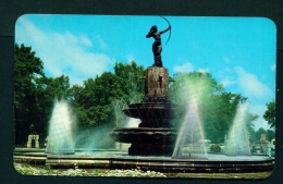 MEXICO  -  Mexico City  Paseo De La Reforma  Diana Fountain  Unused Vintage Postcard As Scan - Mexico