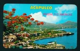 MEXICO  -  Acupulco  Panorama  Unused Vintage Postcard As Scan - Mexico