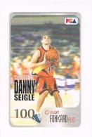 "FILIPPINE (PHILIPINNES) - PLDT (CHIP) - PBA BASKETBALL STARS: DANNY SEIGLE ""DYNAMITE""  - USED  -  RIF.  8977 - Filippine"