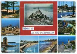 Reflets De La Côté D´Emeraude - Mont-Saint-Michel, St-Malo, Dinard, Cancale, Cap Fréhel - écrite Non Timbrée - 2 Scans - Bretagne