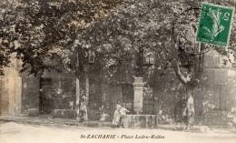 VAR 83 SAINT ZACHARIE PLACE  LEDRU ROLLIN - Saint-Zacharie