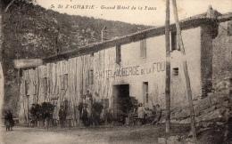 VAR 83 SAINT ZACHARIE AUBERGE DE LA FAUX OU FOUX - Saint-Zacharie