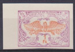 """Belgique Essai : TR 41 *** """"Roue Ailée"""" ND - 1902-1914 - Proofs & Reprints"""