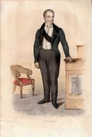 1840 - Gravure Sur Cuivre - Guillaume Dupuytren (Pierre-Buffière 1777 - Paris 1835) Médecin - FRANCO DE PORT - Estampes & Gravures