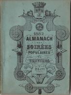 Almanach Des Soirées Populaires De Verviers 1882 - Libros, Revistas, Cómics