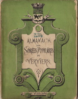 Almanach Des Soirées Populaires De Verviers 1872 - Libros, Revistas, Cómics