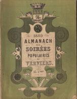 Almanach Des Soirées Populaires De Verviers 1889 - Libros, Revistas, Cómics