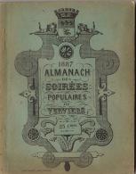 Almanach Des Soirées Populaires De Verviers 1887 - Livres, BD, Revues