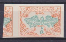 """Belgique Essai : TR 46 *** """"Roue Ailée"""" ND - 1913 - Proofs & Reprints"""