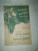 """PARTITION """"UN JOUR VIENDRA"""" WILLEMS(CM) - Partitions Musicales Anciennes"""