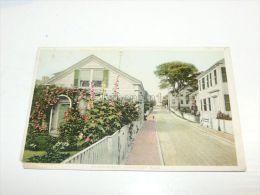 Quince Street, Nantucket, Mass., United States - Nantucket