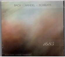 CD - Bach, Handel, Scarlatti - Pavao Masic, Harpischord, Brand New - Classical