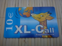 Xl-Call Giraf 10 euro Used