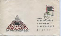 Lettre,art,bienale Des Arts Graphiques,affiche,jeux Labyrinthe,entier Postale Tchecoslovaquie,obliteration 1.11.1982 - Non Classificati