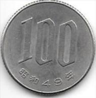 *japan 100 Yen  49  = 1974 Km 82   Xf+ - Japon