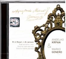 CD - Duos For Violin And Viola - Krpan, Genero, Brand New - Classical