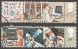 Great Britain. 1982 Information Technology. Used Complete Set. SG 1196-1197 - 1952-.... (Elizabeth II)