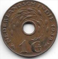 *netherlands India 1 Cent 1939  Km 317   Xf+ - Indes Néerlandaises