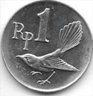 *indonesia  1 rupee 1970  km 20  unc