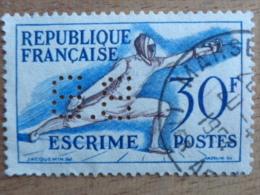 N° 962 Y&T PERFORE B B - France