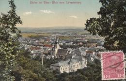 CPA - Baden Bei Wien - Blick Vom Calvarienberg - Baden Bei Wien
