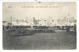 """CPA - Autriche - WIEN - VIENNE - N-O Landes Heil - Und Pflegeanstalt """" Am Steinhof """" // - Ohne Zuordnung"""