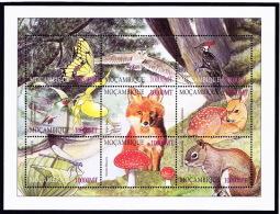 Moçambique -  2002 - Champignons