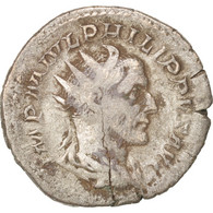 Philip I, Antoninianus, 244, Roma, TB+, Billon, RIC:32 - 5. L'Anarchie Militaire (235 à 284)