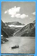 T273, Lac De Barberine Et Le Ruan, Emosson, Animée, Barque, 16708, Circulée 1956 - VS Valais