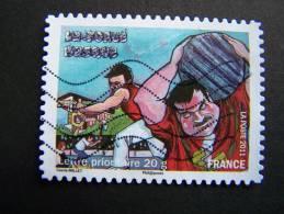 OBLITERE FRANCE ANNEE 2011 N°574 FETES ET TRADITIONS DE NOS REGIONS FORCE BASQUE AQUITAINE - France