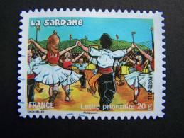 OBLITERE FRANCE ANNEE 2011 N°576 FETES ET TRADITIONS DE NOS REGIONS SARDANE EN PYRENEES ORIENTALES - France