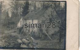PONT A MOUSSON - CARTE PHOTO - GUERRE 1914-1915 - BOMBARDEMENT - MAISON DU PERE HILARION - Pont A Mousson
