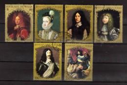 Ciad - Tchad ° - 1971/72 - Paintings - Ritratti-  6 Stamps Divers  .  Oblitéré   Vedi Descrizione - Tchad (1960-...)