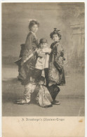 A Strassburger's Liliputaner Truppe Strasbourg Nains Dwarves Japanese Chinese Acrobat Circus - Cirque