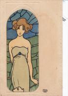 Illustrateur KIRCHNER R., Série Vitraux, Une Des Plus Belles De Kirchner En Tres Bon état - Kirchner, Raphael
