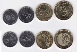 Malaysia Circulation Coins Set 2015 3rd Series Handicrafts & Flora Fauna - Malaysia