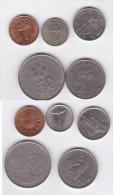 Malaysia Circulation Coins 1989-2011 2rd Series Hibuscus & Cultural Artifacts1 - Malaysia