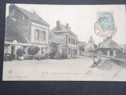 MUIDS - La Rue De Voie - Restaurant Drieux - 1907 - A Voir - Lot P13370 - Muids