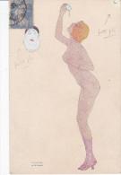 Illustrateur KIRCHNER R., Nu, Femme La Gourmandisel , Les Péchés Capitaux N°5 - Kirchner, Raphael