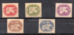 MC Luogotenenza 1945 CORALIT Serie Completa MNH** - 1944-46 Lieutenance & Humbert II