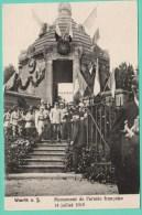 WOERTH - MONUMENT DE L'ARMEE FRANCAISE - 14 JUILLET 1919 - Woerth
