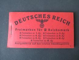 Deutsches Reich Markenheftchen Nr. 49.3 ** 500€ Katalogwert. Seltene Ausgabe!! Guter Zustand - Markenheftchen